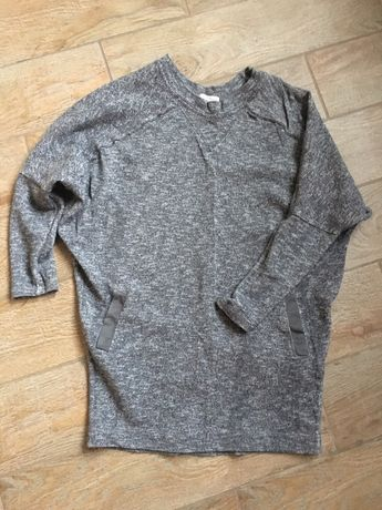 Zara свитшот, свитер удлиненный зара