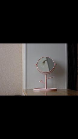 Зеркало женское косметическое  / зеркало настольное для  макияжа