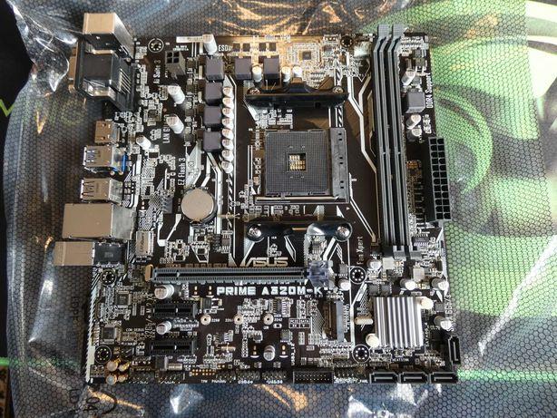 Новая материнская плата Asus Prime A320M-K, AM4, DDR4, AMD Ryzen