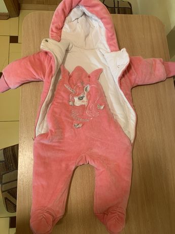 Детский комбинезон 68 размер (теплый)