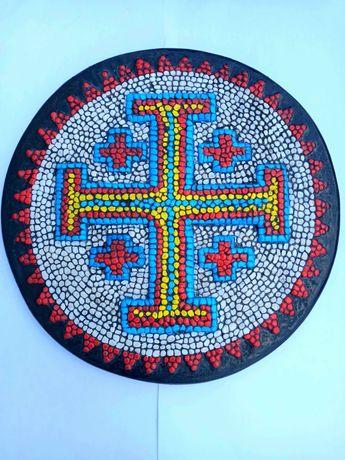 Мозаика Барельеф Декор Подарок Афионский крест