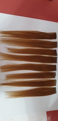 Włosy naturalne clip on