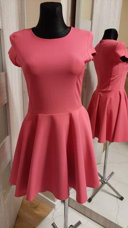 Sukienka różowa M
