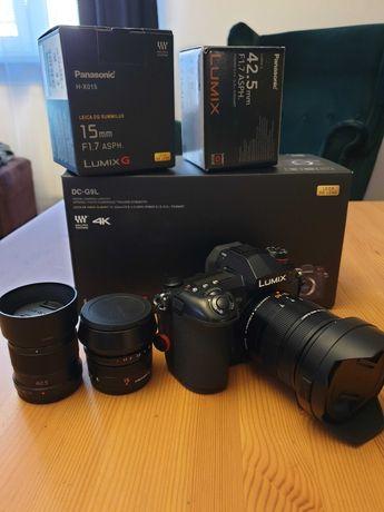 Panasonic Lumix g9 + Leica 12-60