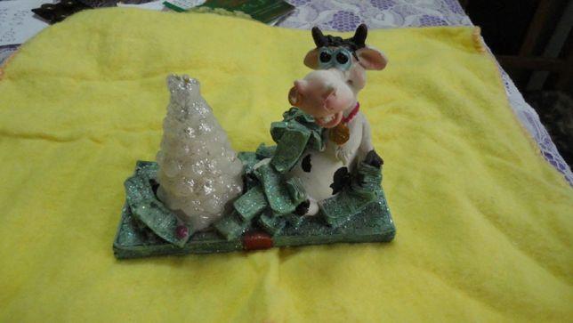 свечка статуэтка ( символ года)Корова 100р