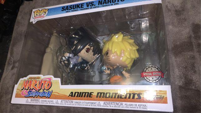 Funko pop! Naruto anime moments vs sasuke