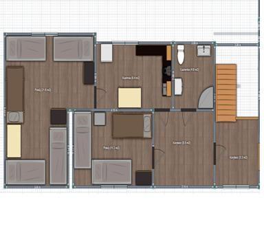 Mieszkanie do wynajęcia dla pracowników (ul. Stryjkowskiego)