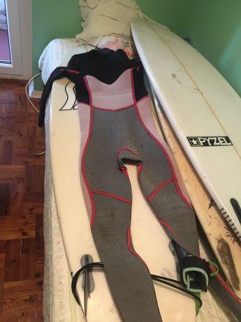 Fato de surf ripcurl dawn patrol 4/3  16 anos com 1 ano de uso