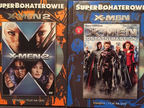 DVD X-MEN superbohaterowie X-MEN 2 film