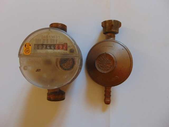 Reduktor gazowy włoski i miernik do wody...