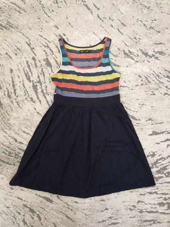 Платье женское, размер S, 8, темно синий цвет
