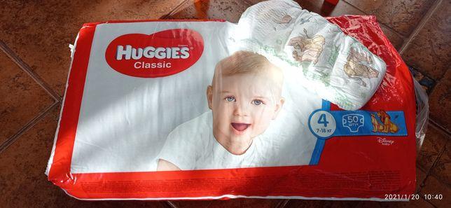 Подгузники/памперсы Huggies classic 4, 35 шт.
