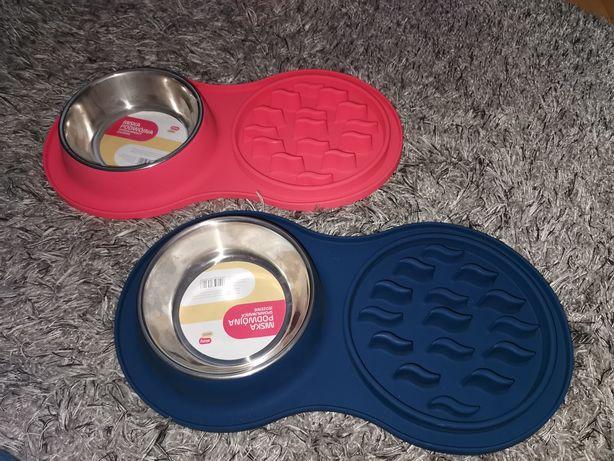 Nowa miska spowalniająca jedzenie dla psa pies