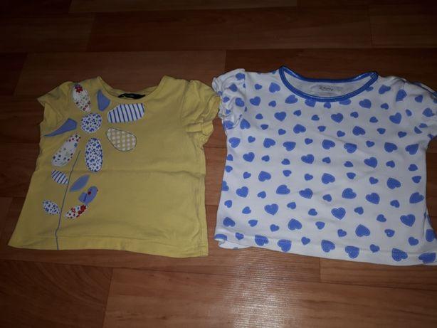 Боди, кофточки, футболки для девочки на 1,5-2 года