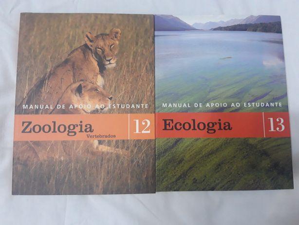 Manuais de apoio ao estudante (2 volumes: Zoologia e Ecologia)