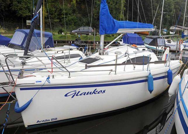 Czarter jacht Antila 22 Mazury