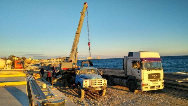 Услуги Автокрана 10 тонн 16 метров
