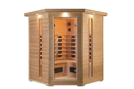 Sauna infrared Werona mini promienniki kwarcowe lub ceramiczne 3os