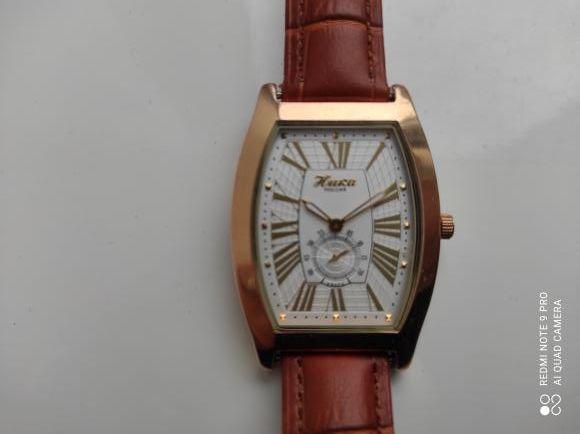 часы наручные мужские золотые