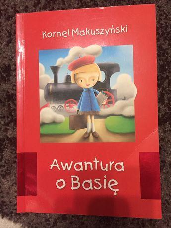 Awantura o Basię Kornel Makuszyński nowa