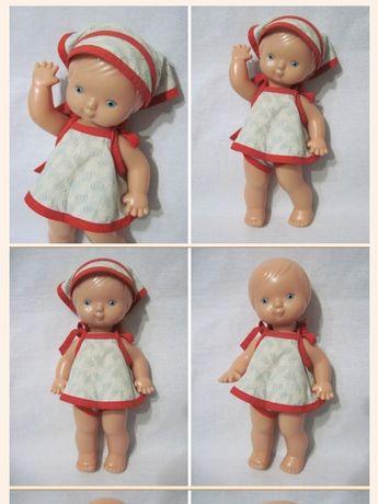 Кукла СССР Машенька Ярославский з-д Луч на резинках рельефная 28 см