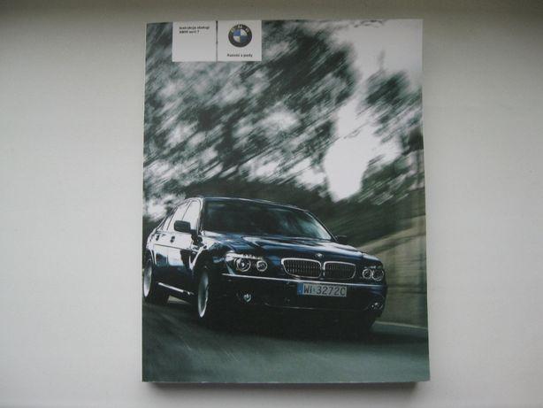 BMW 7 E65 Polska instrukcja BMW 7er E66 e65 e66