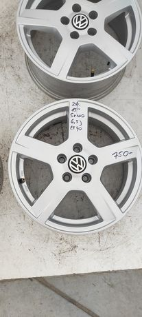 20. Felgi aluminiowe VOLKSWAGEN VW GOLF IV POLO R 15 5x100 Bardzo Ładn