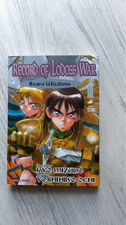 Record of Lodoss War tom 1 Ryo Mizuno, Yoshihiko Ochi