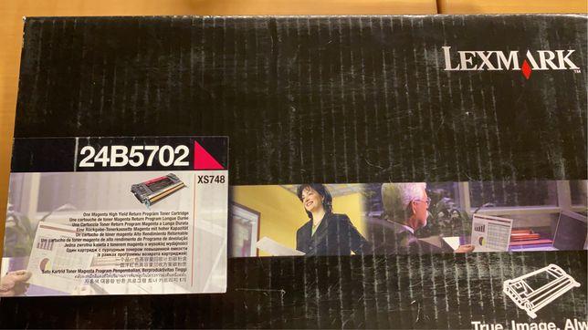 Toners/consumiveis Lexmark XS748 Novos - Originais