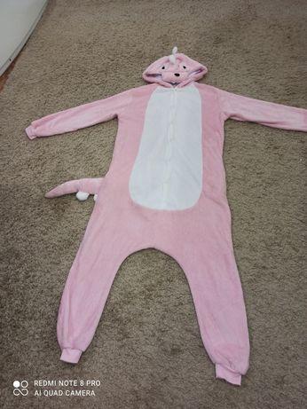 Кигуруми Дракон плюшевый розовый кингуруми дракоша пижама динозавр
