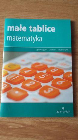 Nowe małe tablice - matematyka