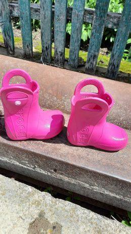 Сапожки Crocs для девочки