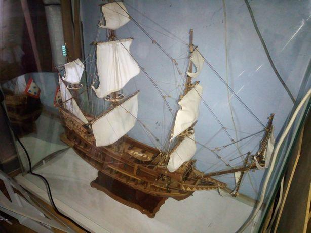 Modelo Barco Galeão São Julião