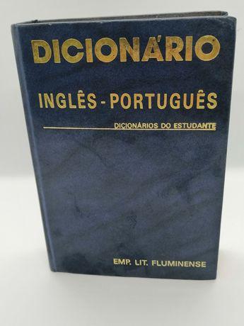 Dicionário do Estudante Inglês-português da Porto editora bom estado
