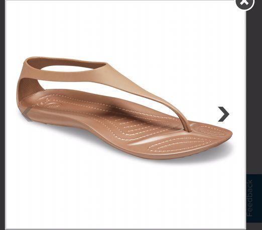 Продам сандали/босоножки Crocs sexy flip w7(37-38)