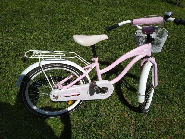 Rower dziecięcy,dziewczecy,damski 21cali, różowy