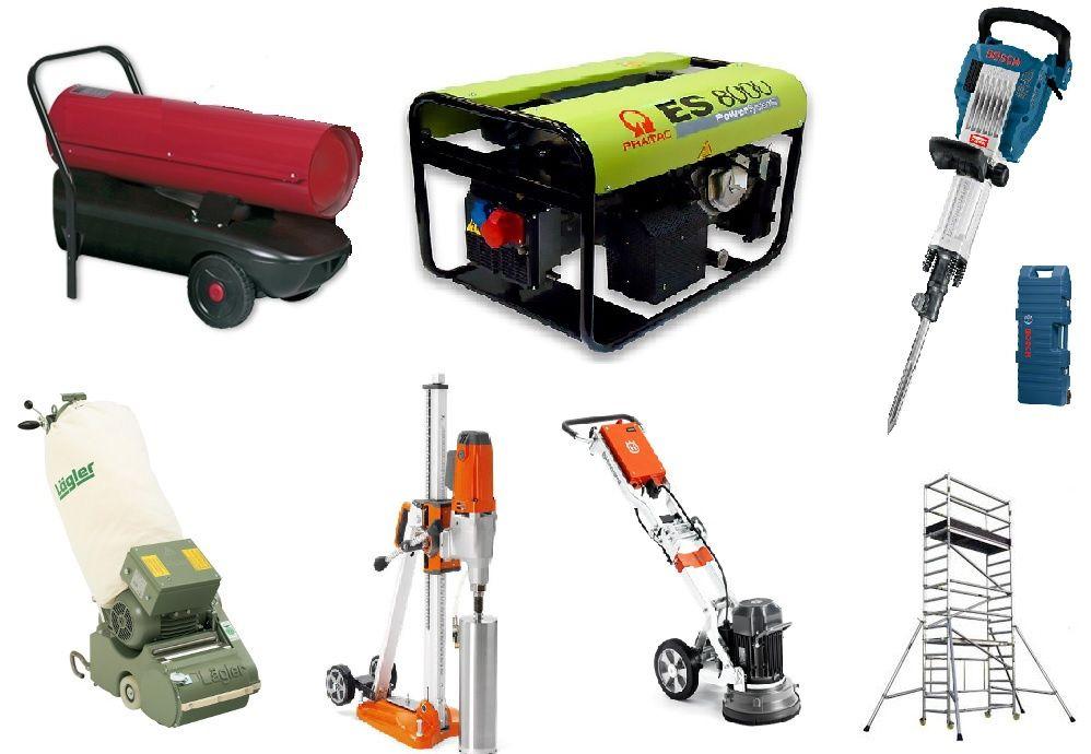 Aluga máquinas e ferramentas p/construção e bricolage Cidade Da Maia - imagem 1