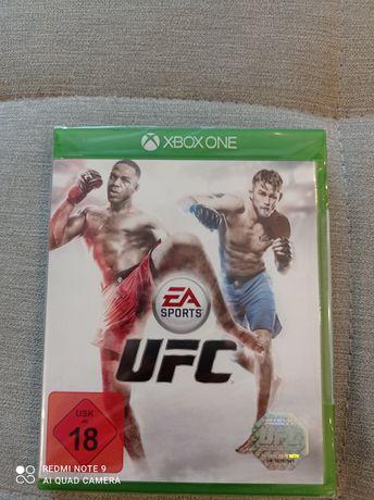 Nowa gra Xbox one UFC. Folia