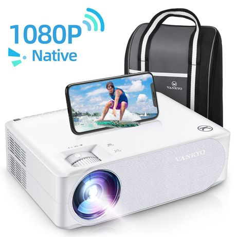 Мультимедіа проектор Vankyo Performance V630W WiFi 1080P Full HD 4к