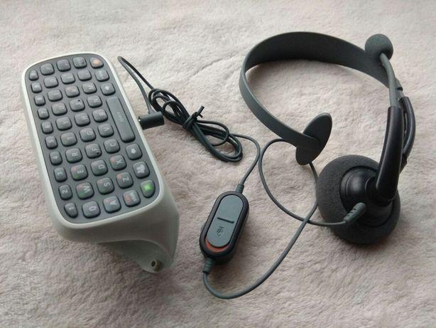 Chatpad Klawiatura słuchawka Xbox 360