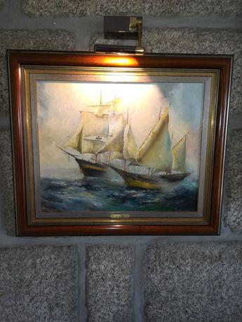 Moldura e quadro de Mario Faria