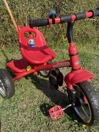 Rower trójkołowy TrikeChildren czerwony dla dzieci 3-5lat