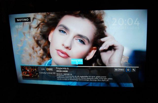 "TV SMART LED 32 cale ""LIN"" z DVB-T, pilotem i podstawą."