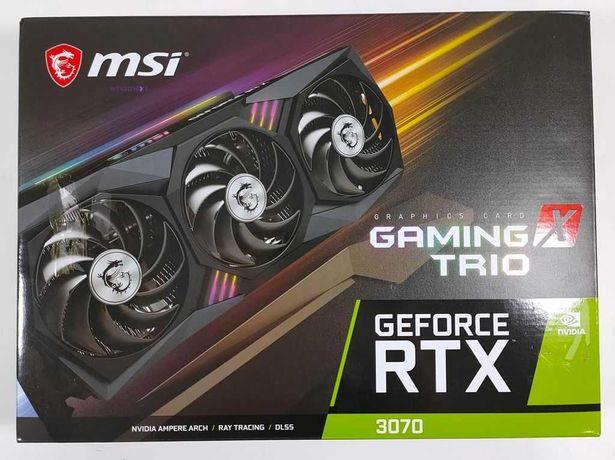 MSI GeForce RTX 3070 Gaming X Trio 8GB GDDR6 nowa dost.od ręki