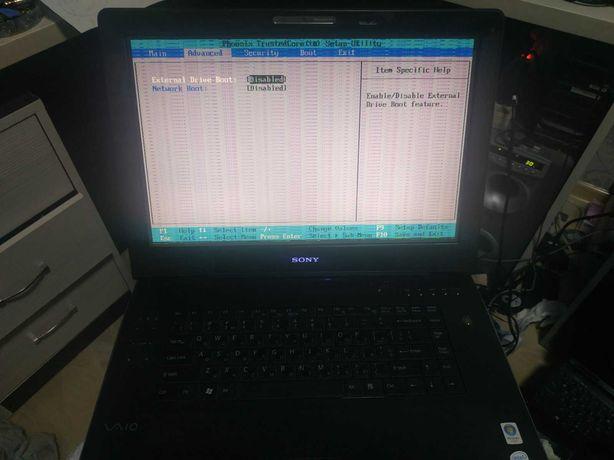 "Ноутбук 17"" Sony Vaio PCG-8Y1L (на запчасти или восстановление)"