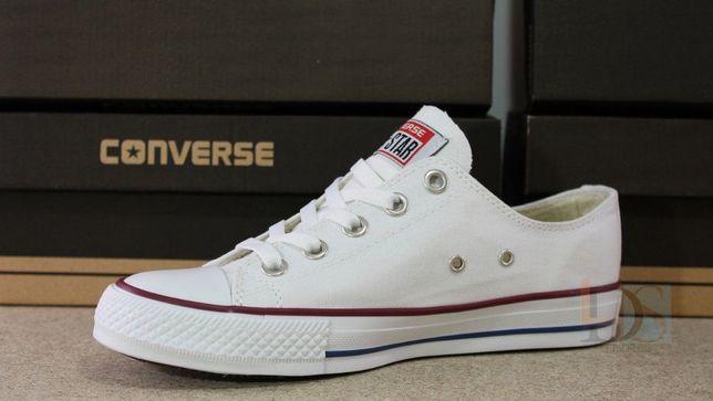 Кеды Converse All Star Chuck Taylor женские белые Конверс подростковые