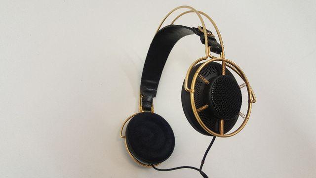 Piękne słuchawki Sennheiser Charleston HD1000