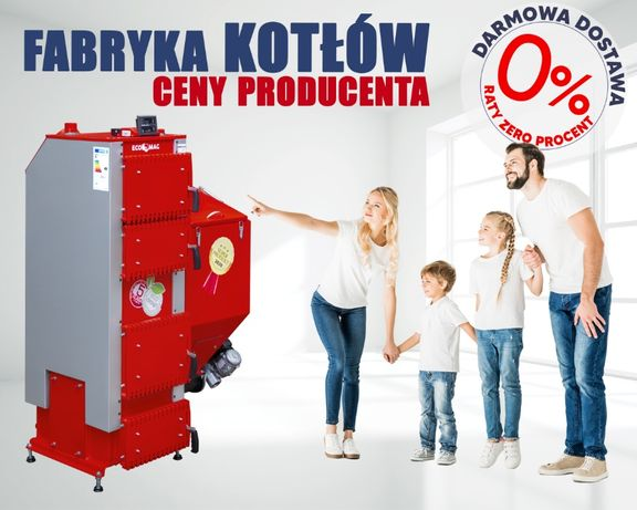 Kotły C.O. piec moc 24kW Feniks 5 klasa Palnik ŻELIWNY