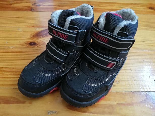 Buty zimowe kozaczki chłopięce