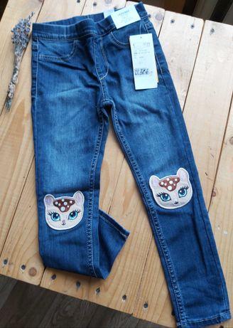 джинсы H&M leggins